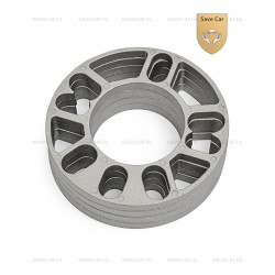 DS01 Проставки н/в диаметр 152/76 мм, под 4 и 5 отверстий, толщина 3 мм,алюминиевые