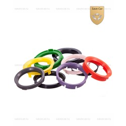 РК16 Пластиковые центровочные кольца 67.1-65.1